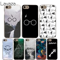 Lavaza always Harry potter Cover Case for iPhone X 10 8 7 6 6S plus Cases for Apple 5 5S 5C SE 4 4S Coque Shell