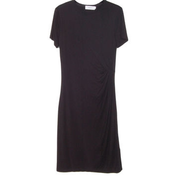 A.L.C. Amy Black Jersey Dress