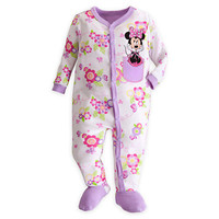 Disney Minnie Mouse Stretchie Sleeper for Baby | Disney Store