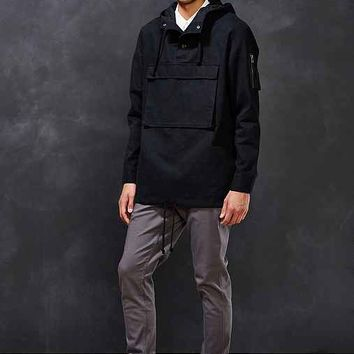Envelope Pocket Anorak Jacket