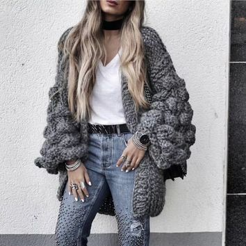 Extreme Chunky Knit Sweater
