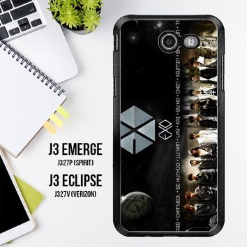 Exo Planet Wallpaper Y1793 Samsung Galaxy J3 Emerge, J3 Eclipse , Amp Prime 2, Express Prime 2 2017 SM J327 Case