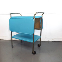 Vintage Cosco Cart Restored Cosco Cart Vintage Bar Cart Leaf Cart