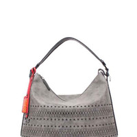 SLOANE LASER CUT HOBO BAG