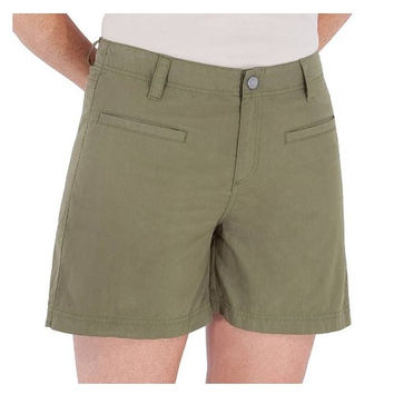 Royal Robbins Women's Maori Quick Dry 5-inch Shorts - Size 6, Olive Green