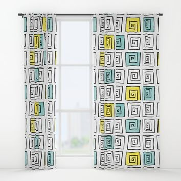 Connection Window Curtains by MidnightCoffee