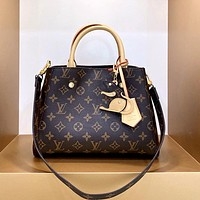 Free shipping / LV classic vintage presbyte handbag shoulder bag crossbody bag