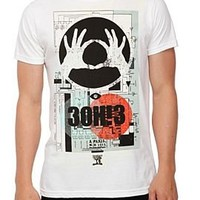 3OH!3 Omens Slim-Fit T-Shirt - 956691