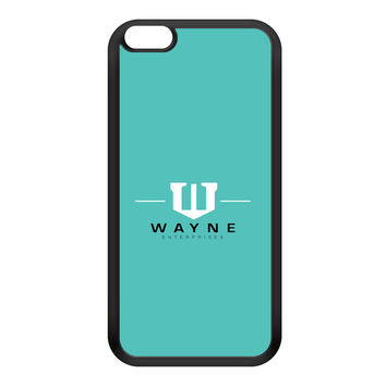 Wayne Enterprises Black Silicon Rubber Case for iPhone 6 Plus by Chargrilled