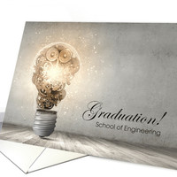 Graduation from Engineering School Announcement card