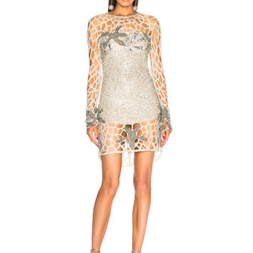 retrofete Sirena Dress in Silver | FWRD