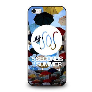 5 SECONDS OF SUMMER 4 5SOS iPhone SE Case Cover