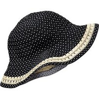 Polka-Dot Sunhats for Baby
