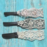 lace western headbands | Elusive Cowgirl