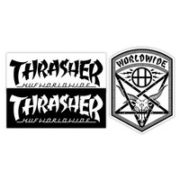 HUF - HUF X THRASHER STICKER PACK