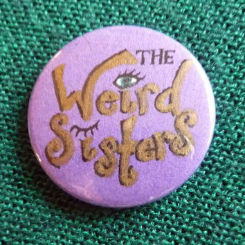 Harry Potter Weird Sisters Button Badge