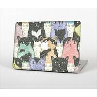 The Vintage Cat portrait Skin Set for the Apple MacBook Pro 13""