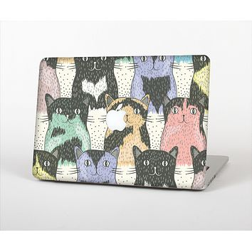 The Vintage Cat portrait Skin Set for the Apple MacBook Air 11""