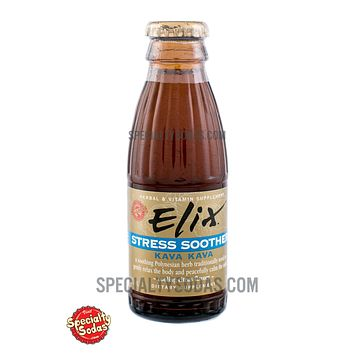 Elix Stress Soother with Kava Kava 100ml Glass Bottle