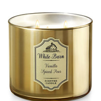 VANILLA SPICED PEAR3-Wick Candle
