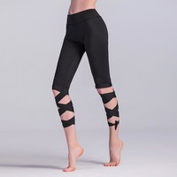Fashion Stretch Black Pants