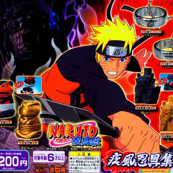 Bandai Naruto Shippuden Gashapon Capsule Goods Part 3 7 Figure Set