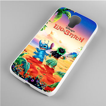 lilo and stitch disney poster Samsung Galaxy S4 Case
