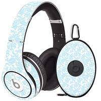 Soft Chateau Blue Damask Skin for the Beats Studio Headphones & Case by skinzy.com