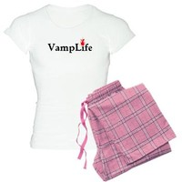 Vamp Life 2 - Vampire Attire Pajamas - White - KinDread Designs