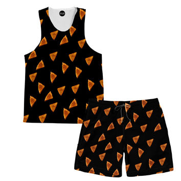 Grilled Cheese Tank and Shorts Rave Outfit