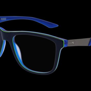 Puma - PU0075O Blue Eyeglasses / Demo Lenses