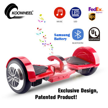 2017 USA Germany warehouse shipping patented self balance scooter 7.5 inch bluetooth hoverboard overboard oxboard hoverboard