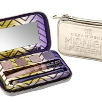 Urban Decay Midnight Emergency Kit Palette and Lip Gloss