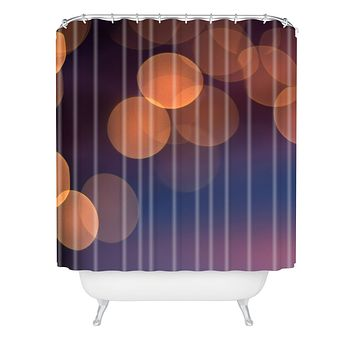 Bird Wanna Whistle Lights Shower Curtain