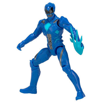 Mighty Morphin Power Rangers Movie Hero 5 inch Action Figure - Blue Ranger