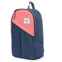 Herschel Supply Co.: Parker Backpack - Navy / Flamingo