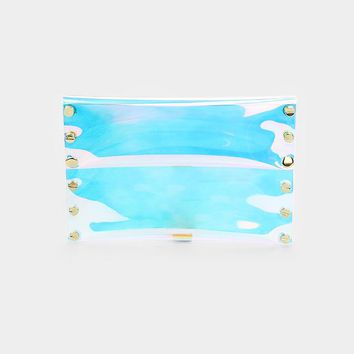 hologram handbag clutch bag purse pocketbook