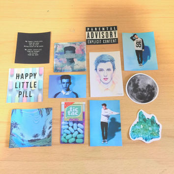 Troye Sivan TRXYE Stickers Pack Set FREE SHIPPING