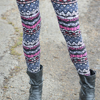 All You Need is Love Print Leggings