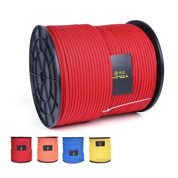 P98 Outdoor static rope climbing auxiliary rope mountaineering survival rope Grab knot Umbrella rope 6mm