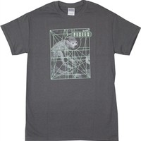 Pixies Monkey Grid Shirt on sale from OldSchoolTees.com | More Rock Tees and other Movie, Vintage, Graphic Tees available from Old SchoolTees.com