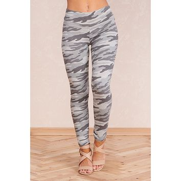 Obeying Orders Leggings (Blue Grey)