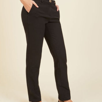 Renewable Synergy Ponte Pants | Mod Retro Vintage Pants | ModCloth.com