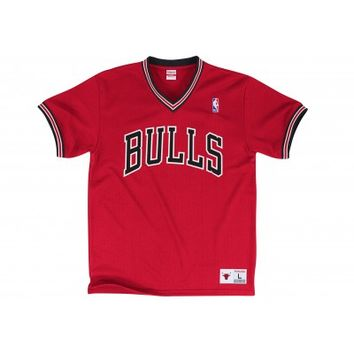 #1 Spot Mesh Short SleeveChicago Bulls | Mitchell & Ness
