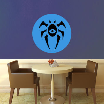 Dimir Symbol - Ravnica - Magic the Gathering Wall Decal - Layered Full Color