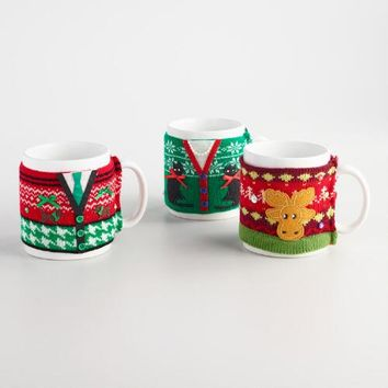 Mugly Sweater Mug Set of 3