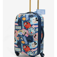 Disney Mickey Mouse World Traveler 21 Inch Spinner Luggage - BoxLunch Exclusive
