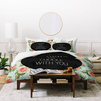 Allyson Johnson Cuddle With You Duvet Cover