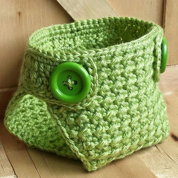 Crochet Diaper Cover PATTERN - (sizes include Newborn - 24 Months) Instant Download