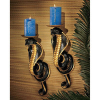 S/2 Renenutet Cobra Goddess Wall Sconces